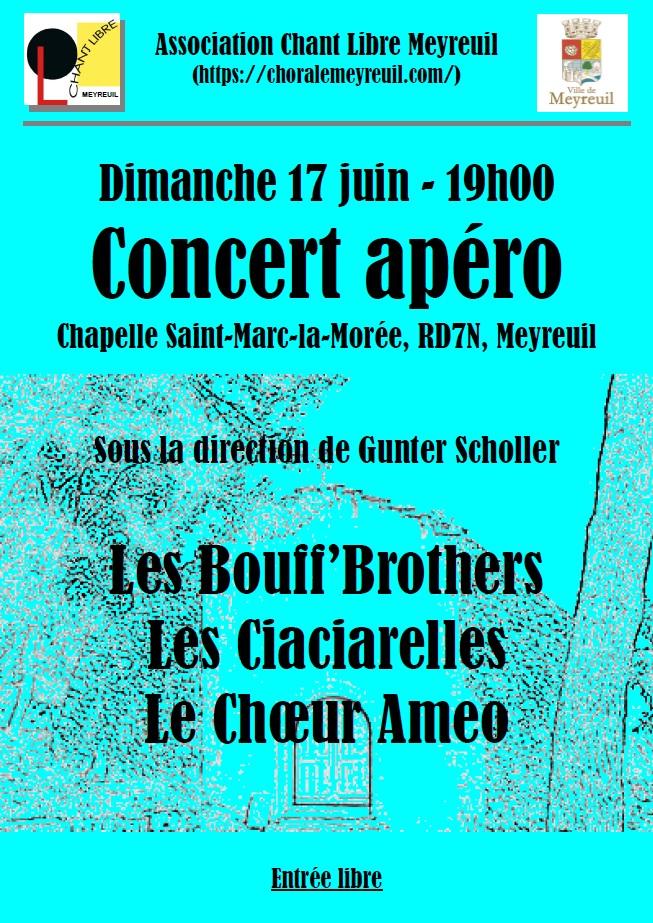 Affiche concert 17 juin 2018