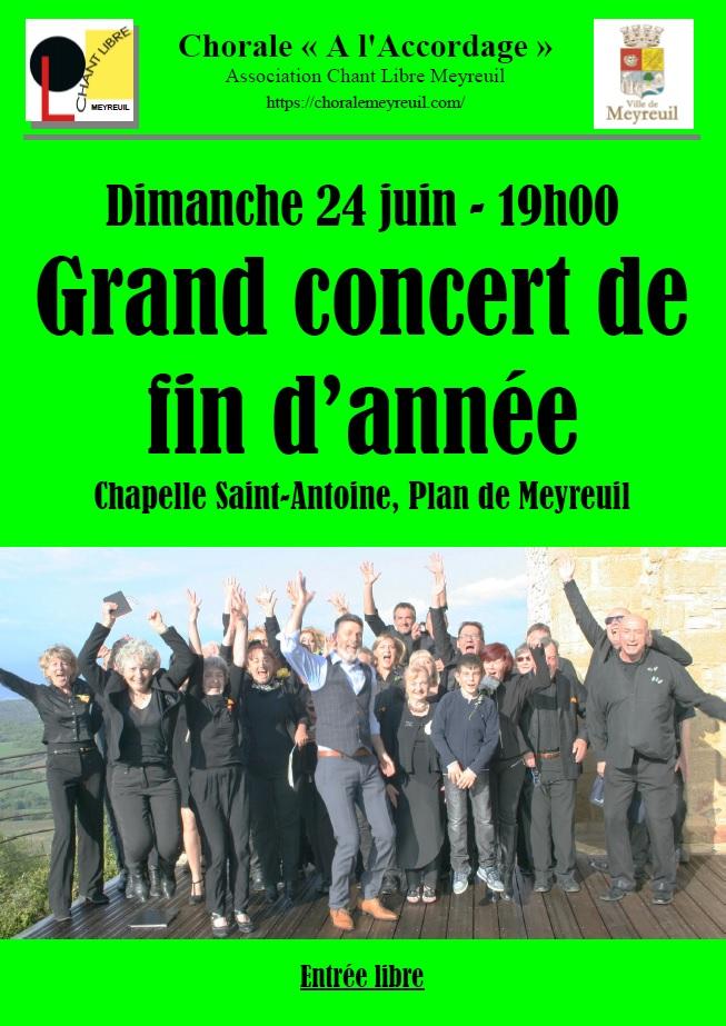 Affiche concert juin 2018